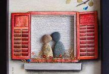 innamorati alla finestra
