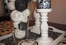 Dinning table decors