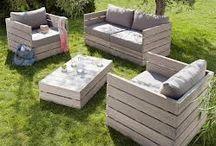 Un giardino resistente / Idee per un giardino da creare su un piazzale di cemento
