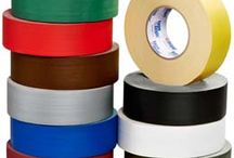 Gaffers Tape / Has good adhesion, high tensile strength, conform-ability, adhesive transfer resistance and easy tear for use in the building trades industry for securing wires to carpet, wood and concrete.