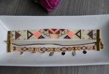 Bracelet / perle Miyuki, bracelet......