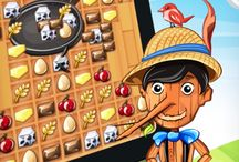 Tasty Tale Game / Mix and match colorful and yummy ingredients to solve over 300 levels in this highly amusing and delightfully addictive puzzle adventure.