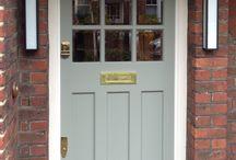 Doors and door hardware