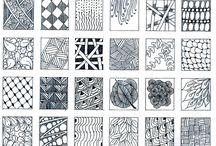 Art - drawing/zentangling