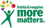 Fruits & Veggies More Matters / Fill half your plate with fruits & veggies