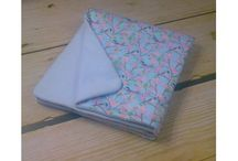 Organic Cotton universal baby blankets for all seasons / Lovely organic baby blankets for each day of the year!