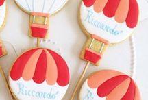 Balões cookies