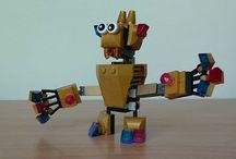 Lego Mixel Mashup