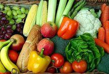 Legumes, verduras, frutas e temperos