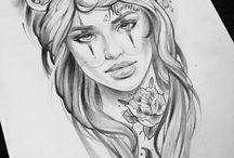 Tatuoidut naiset