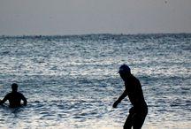 BUSAN Surfing! / Song Jung Beach surfing! _ Busan Korea