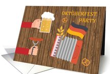 Oktoberfest - Grab a pint Prost! / With the beer and pretzels as center stage from late September through October, Oktoberfest is a folk festival attracting people from all over the world to Bavaria's capital, Munich, Germany for 16 days. Many celebrate with their own fall festival parties at home around the world.  Beer, fall festival dressing, traditional German food and lots of fun!