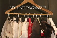 DIY Hanger organizer