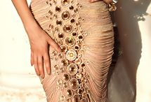 Opulence / Luxury, laces, sequence, bright colours, shine, glitters, beads
