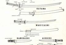 Katana / Katanas and tantos