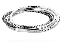 Tianguis Jackson Silver Bangles / Just some of the sterling silver Tianguis Jackson bangles that we sell. Visit http://www.qualitysilver.co.uk/Jewellery/Tianguis-Jackson.html to see the full range.