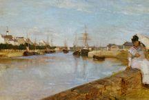 Berthe Morisot (1841 - 1895) / Art from France.