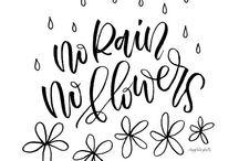 ✌️ no rain , no flowers