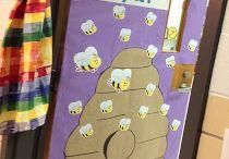Bulletin Boards & Doors / by Leann Childers