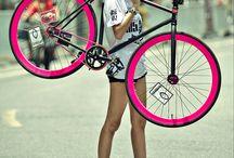 girl w bike