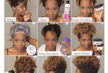 Hair / Hair products and styles