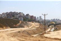 Başakşehir'den Kayaşehir'e ulaşım yeni yol çalışması ile 2 km. azalıyor.