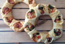 pasta y  pizza  roscas ectr / by Encarna Alvarez