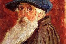 Камиль Писсарро (Camille Pissarro) 1830-1903 / Французский художник-импрессионист.