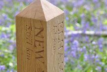 Hand Carved Oak Designs