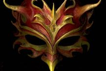 Masks ideas / by Patsy A. Griffith