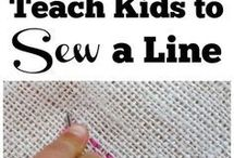 Sewing and Learning with Kids