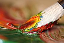 paintbrushes / For the love of all things colour.....