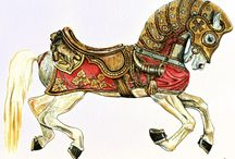 Carousel Horses / by Karen Wesley