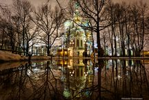 Russian Architercture / Russian Cathedrals, Palaces, Famous Buildings
