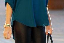 Black leggins outfit