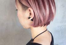 haircolor pink