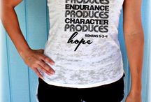 Christian quotes Tank tops