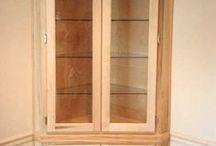 corner cabinet dining room