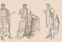 déguisement romain