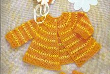 Crochet-baby clothes, blankets,afghans, bibs, etc. / by Cheryl Keiper