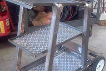 Welder trolley
