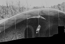PHOTOS maison bulle REBOULIN à VARAGES 84- 1992 / Conception: Hervé REBOULIN ARCHITECTE Réalisation: Antonio BENINCA SCULPTEUR