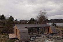 architecture - Summer house Grøgaard and Slaattelid / Knut Hjeltnes