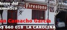 NEUMÁTICOS JUAN CAMACHO / Todo en neumáticos. Av. Vilches, 4 Tel. 953660018 LA CAROLINA / by Te atiendo... ¡Tu tienda!