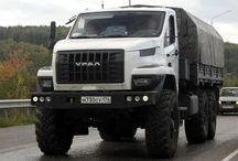 R Russian Trucks- URAL / Trucks of the Russian brand URAL.