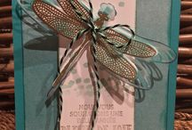 Stampin up dragon fly