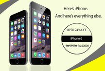 Mobiles / iPhone 6 - 16 GB at India's Best Online Shopping Store.