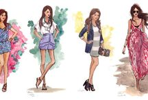 _Fashion Drawings we LOVE_