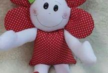 Кукла-цветочек