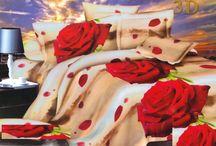 Romantické posteľné obliečky